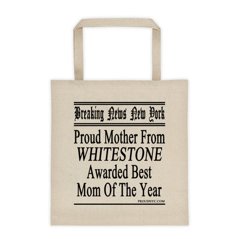 Whitestone Best Mom Tote bag