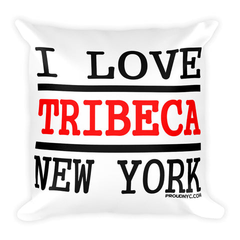 Tribeca Love Square Pillow