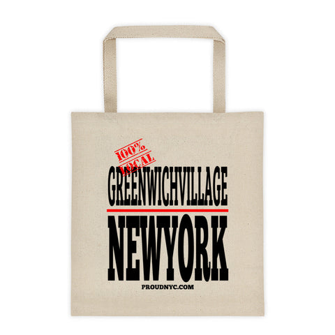 Greenwich Village Local Tote bag