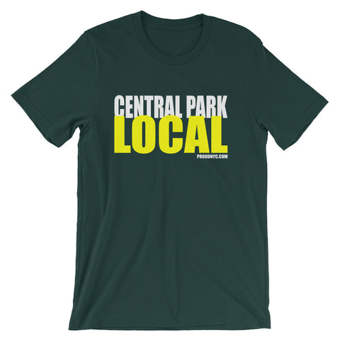Central Park Local Unisex short sleeve t-shirt