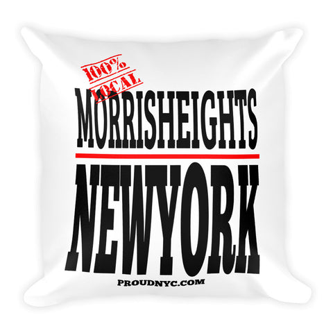Morris Heights Local Square Pillow