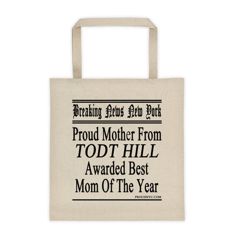 Todt Hill Best Mom Tote bag