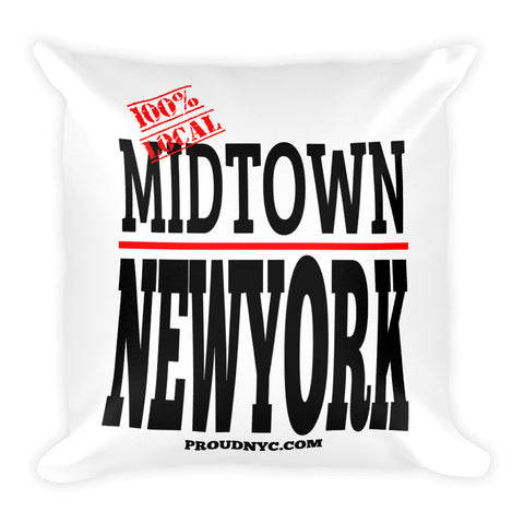 Midtown Local Square Pillow