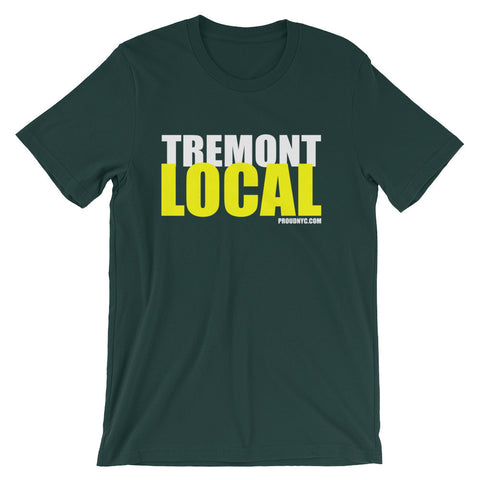 Tremont Local Unisex short sleeve t-shirt