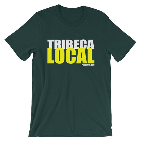 Tribeca Local Unisex short sleeve t-shirt
