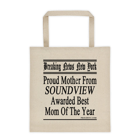 Soundview Best Mom Tote bag