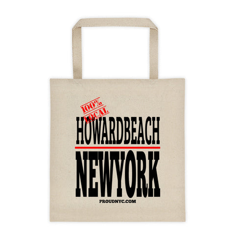 Howard Beach Local Tote bag