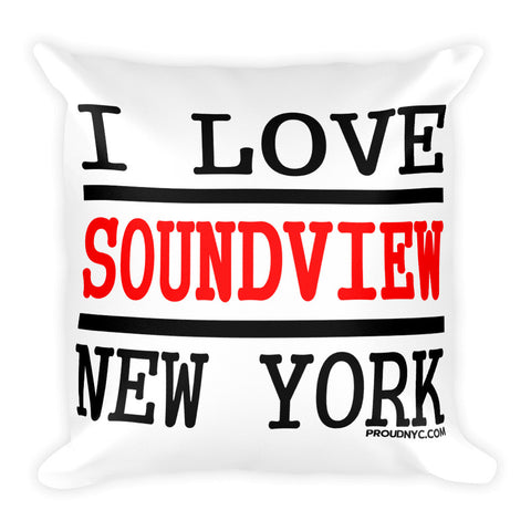 Soundview Love Square Pillow