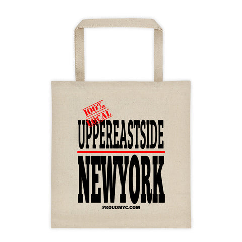 Upper East Side Local Tote bag