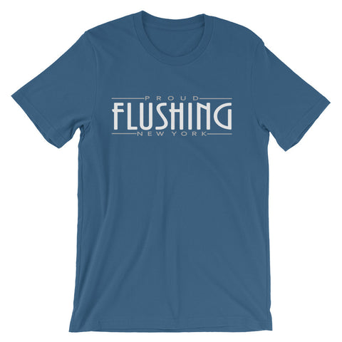 Flushing Classic Unisex short sleeve t-shirt