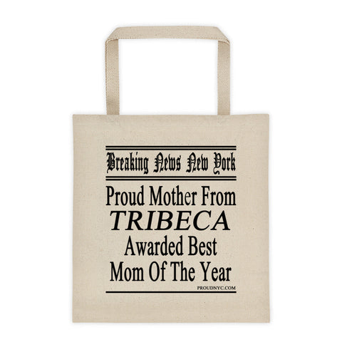 Tribeca Best Mom Tote bag