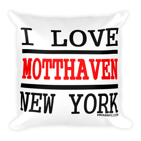 Mott Haven Love Square Pillow