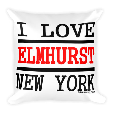 Elmhurst Love Square Pillow