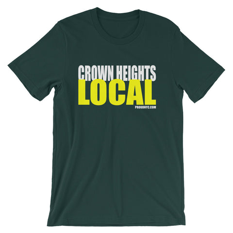 Crown Heights Local Unisex short sleeve t-shirt