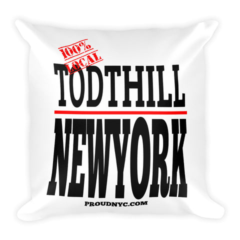 Todt Hill Local Square Pillow