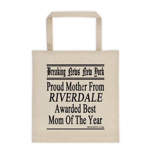 Riverdale Best Mom Tote bag