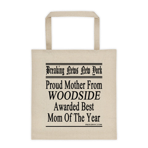 Woodside Best Mom Tote bag