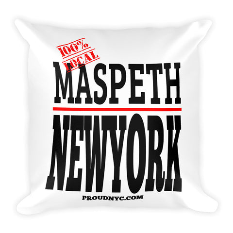 Mapeth Local Square Pillow