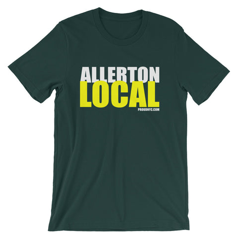 Allerton Local Unisex short sleeve t-shirt