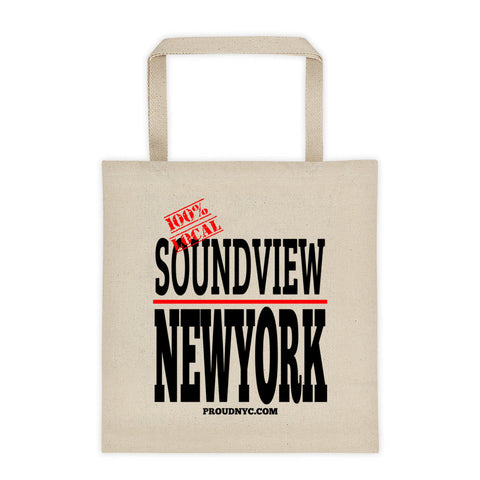 Soundview Local Tote bag