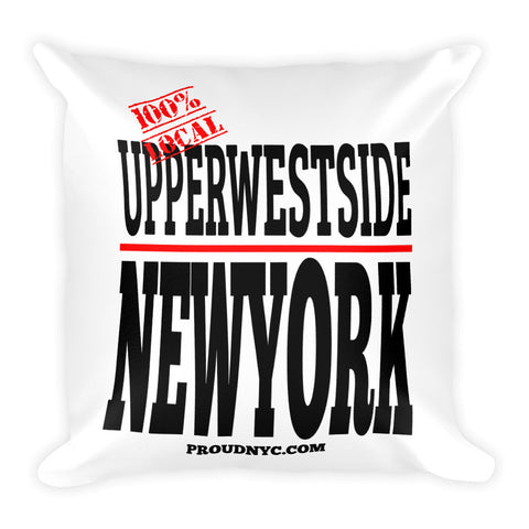 Upper West Side Local Square Pillow