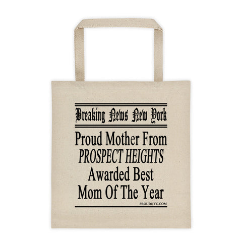 Prospect Heights Best Mom Tote bag
