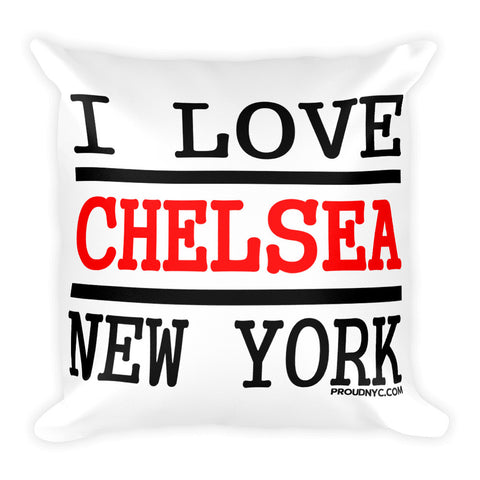 Chelsea Love Square Pillow