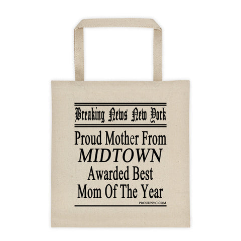 Midtown Best Mom Tote bag