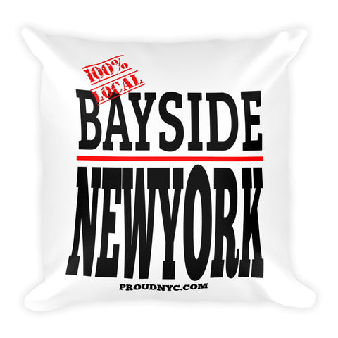 Bayside Local Square Pillow