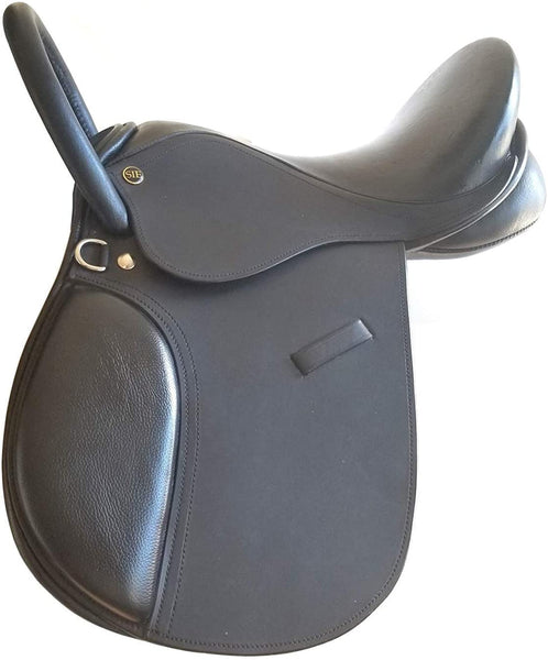 English Jumping Handle Saddle, Pony 15""
