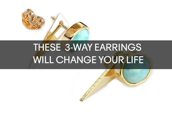 These 3-Way Convertible Earrings Will Change Your Life Forever