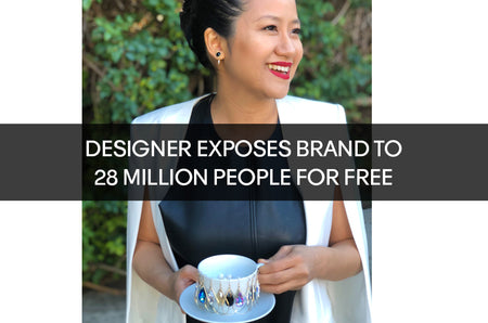 Designer Markets Business To Over 28 Million People For Free