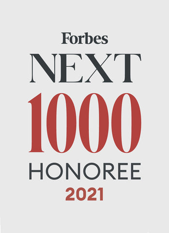 Forbes Next 1000 featured Sonia Hou Jewelry
