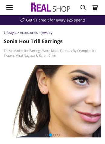 The Real Daytime talk show featured SONIA HOU Jewelry