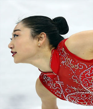 MIRAI NAGASU X SONIA HOU U.S. Figure Skater Mirai Nagasu Wearing FIRE Earrings by SONIA HOU Jewelry at Winter Olympics 2018