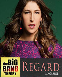 SONIA HOU Jewelry's celebrities / press exposure includes CBS' Big Bang Theory Actress Mayim Bialik Wearing Her ANGEL Earrings