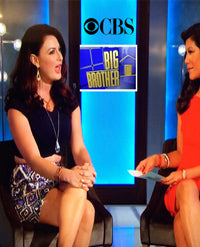 SONIA HOU Jewelry's celebrities / press exposure includes CBS' Big Brother Rachel Reilly Wearing Her Earrings on TV