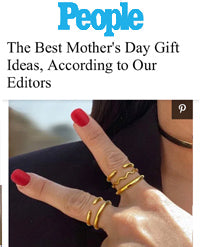 PEOPLE featured Sonia Hou Jewelry as Best Mother's Day Gift