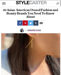Sonia Hou Jewelry featured on Stylecaster as one of the Asian Owned Fashion Beauty Brands To Know About