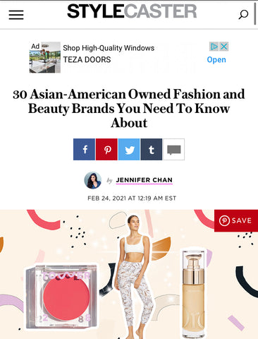 Sonia Hou Jewelry featured on STYLECASTER as one of the 30 Asian Owned Fashion Beauty Brands You Need to Know About