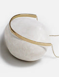 C.E.O. CHOKER STATEMENT NECKLACE IN 925 STERLING SILVER BY SONIA HOU JEWELRY
