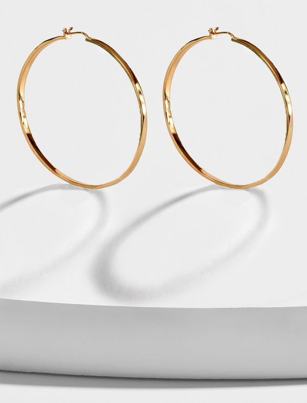 ETERNITY LARGE HOOP EARRINGS