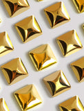 Square Earrings in 18K Gold Vermeil by Sonia Hou Jewelry