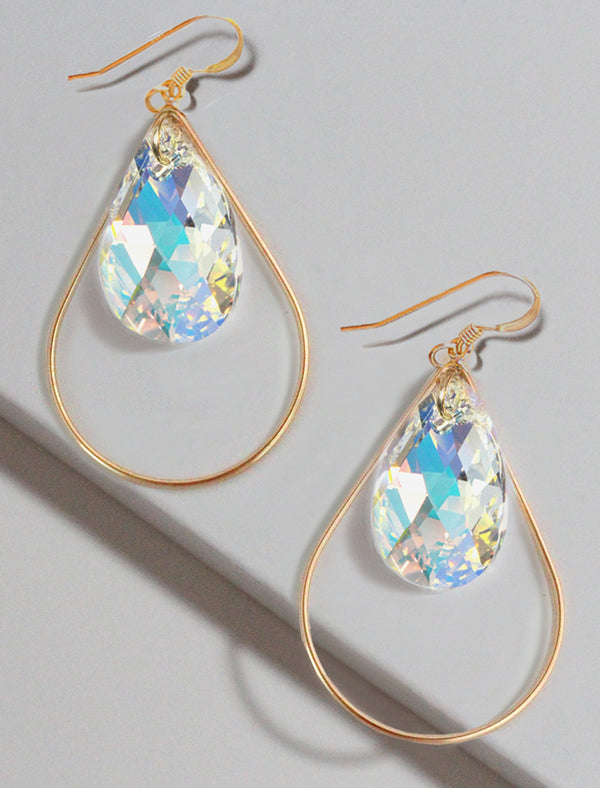 SELFIE SWAROVSKI CRYSTAL EARRINGS | BILLIONAIRE