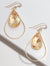 SELFIE SWAROVSKI CRYSTAL EARRINGS | NAKED