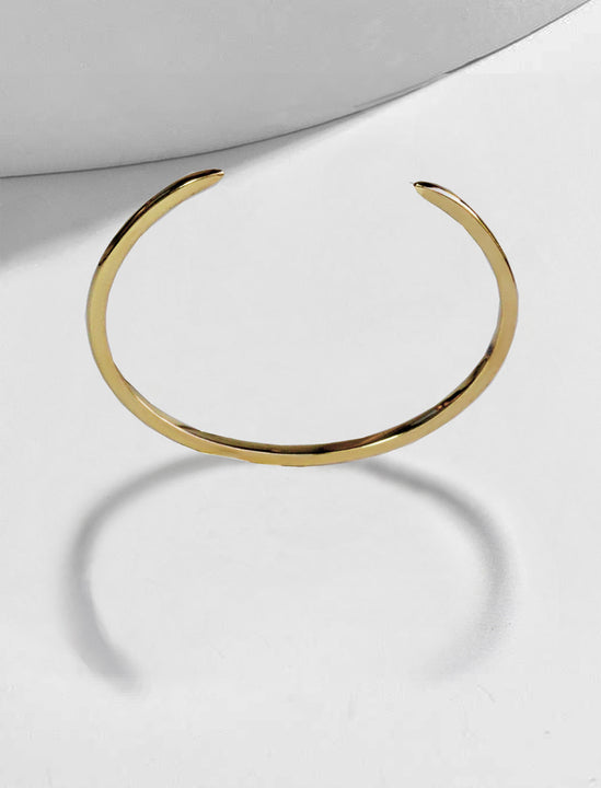 Success 925 Sterling Silver Thin Cuff Bangle Bracelet by Sonia Hou Jewelry