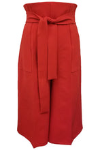 Flow by Tara Davis High Waist Red Gaucho Pants - Flow by Tara Davis