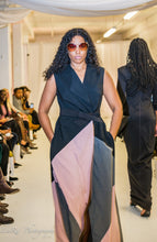 Suiting Twill Stretch Wrap Vest and Dress - Flow by Tara Davis