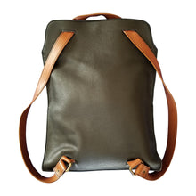 Flow by Tara Davis  Leather Convertible Tote to Backpack
