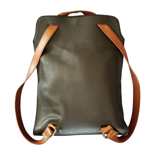 Flow by Tara Davis  Leather Convertible Tote to Backpack - Flow by Tara Davis